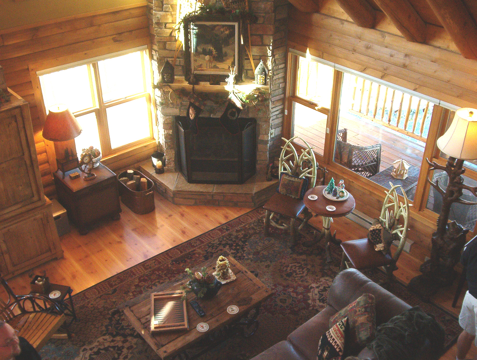 Hunting cabin interior - We Envisioned