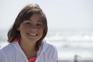 Aleyna at the beach