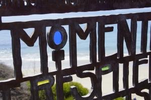 Gate at Laguna Beach