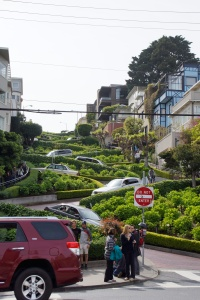 Lombard - the crookedest street