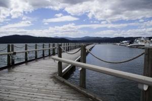 World's longest floating boardwalk