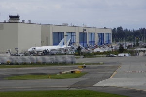 Massive facility where they build these aircraft. No pictures allowed inside. It's a must-see if you're near Seattle