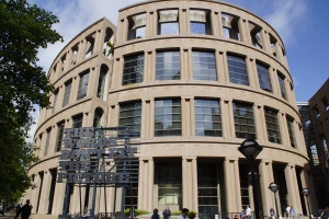 Vancouver Public Library resembles the Roman Coliseum