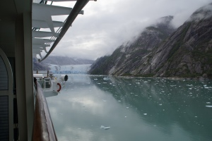 cruising through the fjord